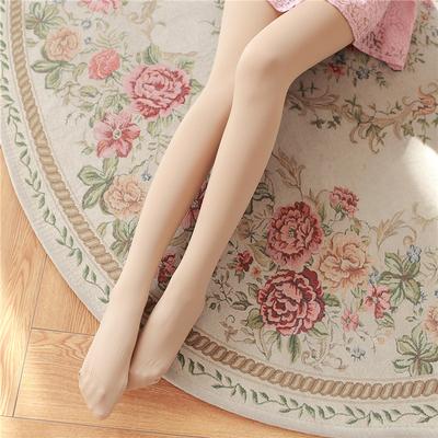防勾丝日系天鹅绒薄款肤色丝袜春秋显瘦连裤袜女性感踩脚打底袜子
