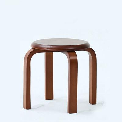 实木小凳子创意矮凳木凳时尚圆凳客厅凳子家用木头小板凳餐凳