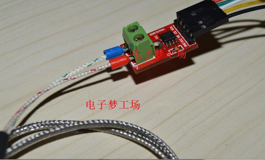 8 92] Arduino MAX31855 K Thermocouple Module Temperature