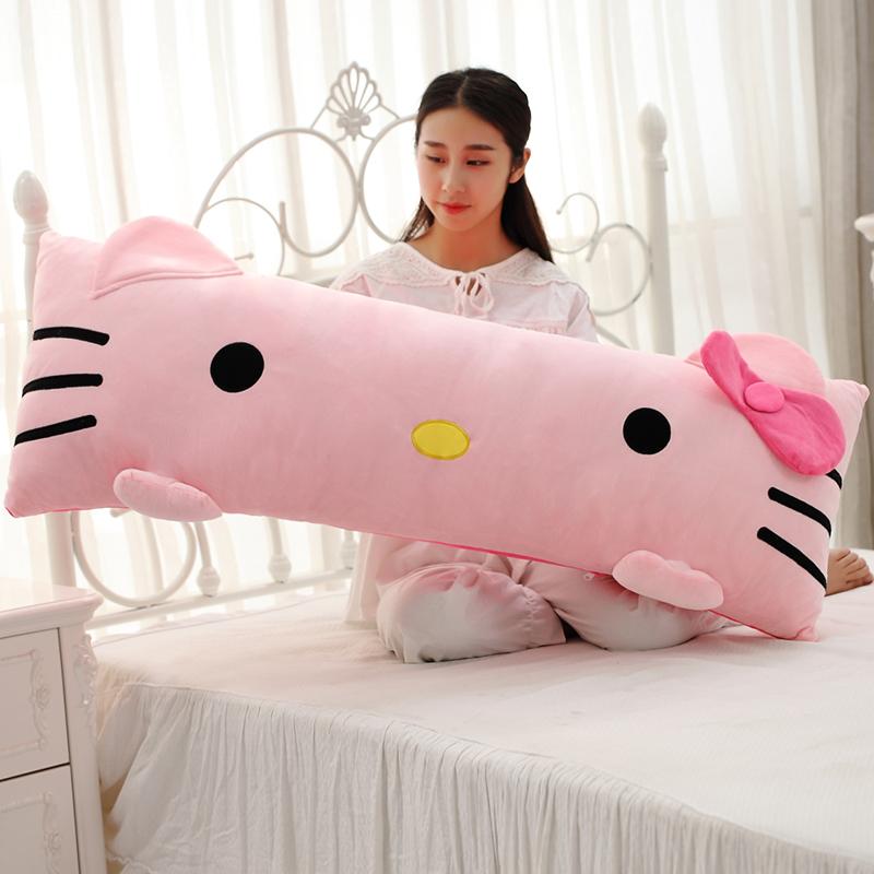 Phim hoạt hình gối dài gối phòng ngủ giường đệm tựa đầu gối vài đôi gối dài gối đơn với gối