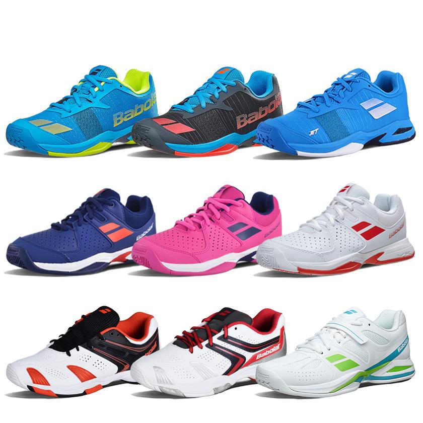Chính hãng Babolat Baibaoli thanh thiếu niên trẻ em giày tennis người đàn ông mới và phụ nữ mùa hè breathable mang giày thể thao