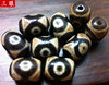 12X16m Tibetan Tantra Genuine Old Mine Natural Agate Oil Weathered Fine Old Dzi Beads Small Matching Beads