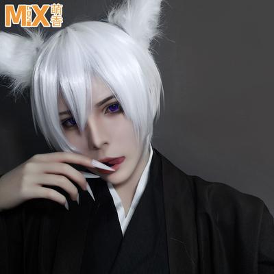 taobao agent Mengxiangjia cosplay wig Bawei V Jiayan and Yuanyi Origami Yalian Walker Pure White