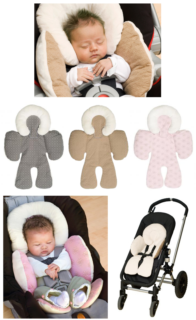 Jj Cole Baby Head Amp Body Support Pillow For Car Seat