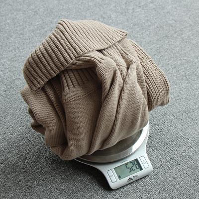 Áo len cao cổ nam Hàn Quốc Slim mùa thu nam mùa đông Áo len nam mới cotton dày áo thun nam - Hàng dệt kim