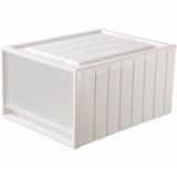 Rangec抽屉式收纳柜塑料衣柜收纳盒    卷后9.9元起不限ip送彩金