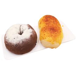 2盒装欧包面包低脂网红巧克力雷神手撕早餐糕点手工咸蛋超人零食