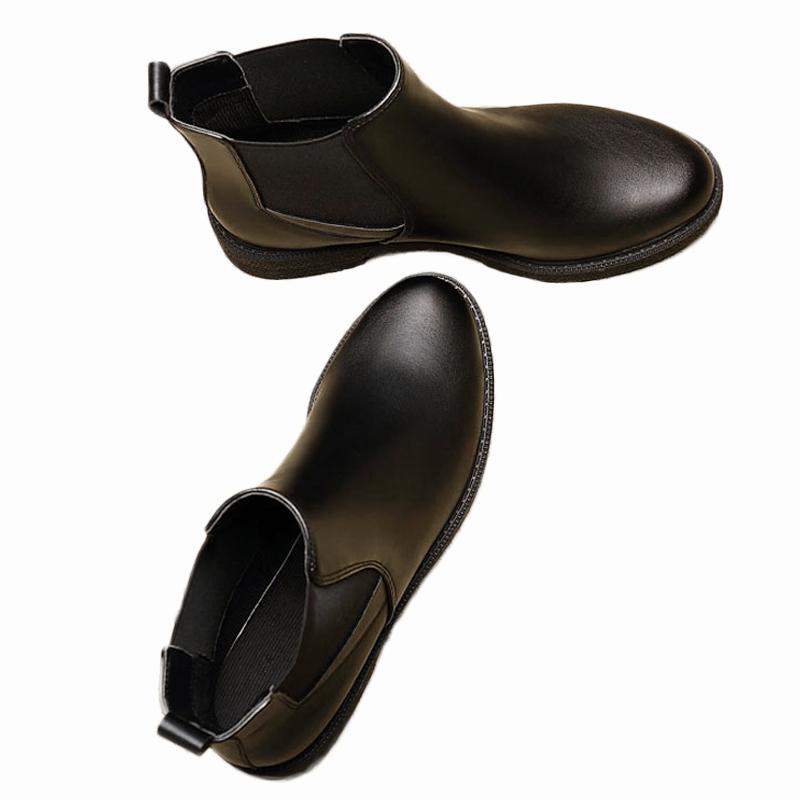 2017新款切尔西短靴女春秋平底百搭马丁靴英伦鞋女子冬加绒皮鞋靴