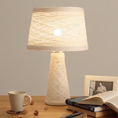 光年灯饰藤艺灯具 书房卧室床头灯 北欧现代简约