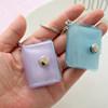 Glitter flash love cover 1 inch 2 inch 3 inch photo mini album school bag pendant small palm treasure portable pendant