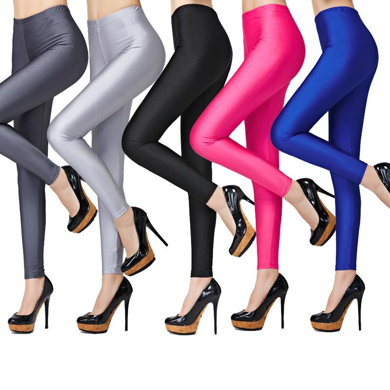 纳兰语 光泽感 女式9分打底裤 ¥19.9包邮 8色可选