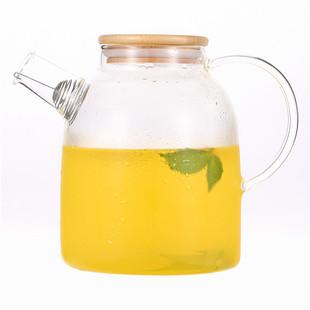 大容量耐热玻璃茶壶冷水壶果汁杯凉水杯