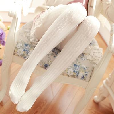 taobao agent Japanese Mori women's sweet Lolita Lolita velvet thread bottoming stockings pantyhose vertical striped stockings women