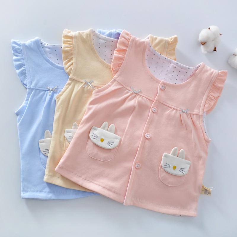 【双层纯棉】春秋季婴儿双层马甲