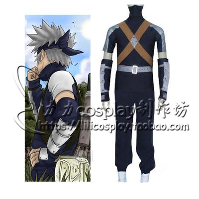 taobao agent Naruto cos Kakashi infant cosplay anime infant costume escort