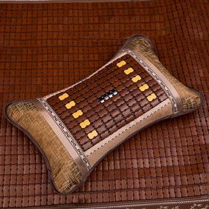 Mùa hè Gối Sinh Viên Trà Gối Băng Lụa Mat Độc Mahjong Tre Gối Mùa Hè Mùa Hè Mát Mẻ Mát Người Lớn Mát Gối