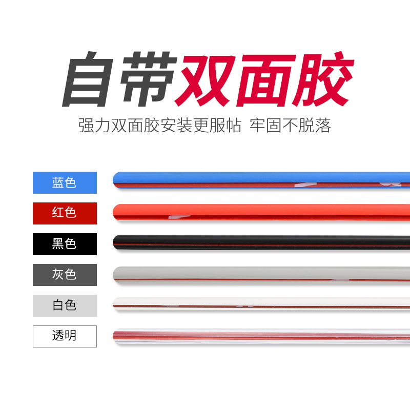 Anti-scratch, anti-scratch, anti-scratch and anti-scratch decorative tape for car-borne articles
