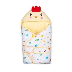 新生儿抱被秋冬加厚保暖纯棉鸡宝宝包被可脱胆睡袋抱毯婴儿用品