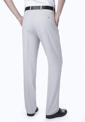 Chính hãng người đàn ông trung niên của quần lụa mùa hè phần mỏng kinh doanh bình thường quần miễn phí hot loose thẳng phù hợp với quần Suit phù hợp