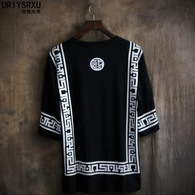 Mùa hè nam giới và phụ nữ những người yêu thích lỏng kích thước lớn đồng phục bóng chày ngắn tay in T-Shirt Hàn Quốc xu hướng thời trang cổ tròn t-shirt
