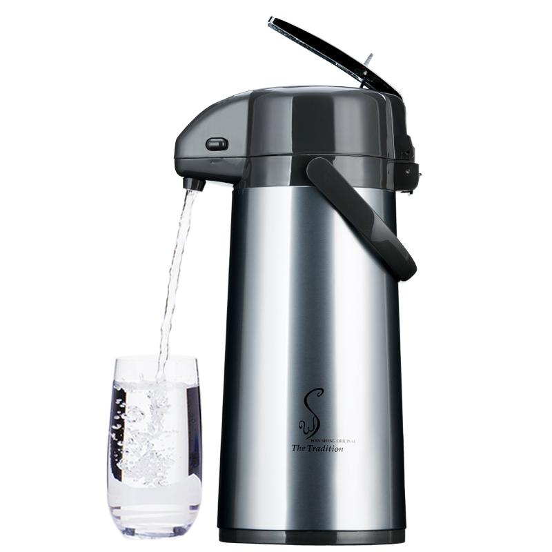五月花气压式热水瓶家用保温壶玻璃内胆保温瓶暖壶保温水壶热水壶