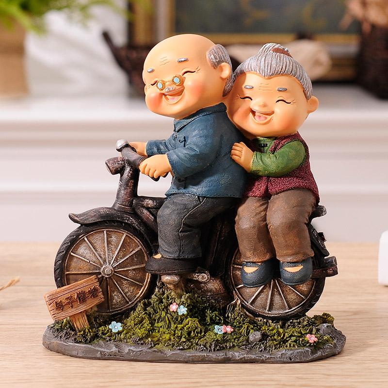 创意浪漫异地恋神器情侣摆件,送长辈情人节礼物