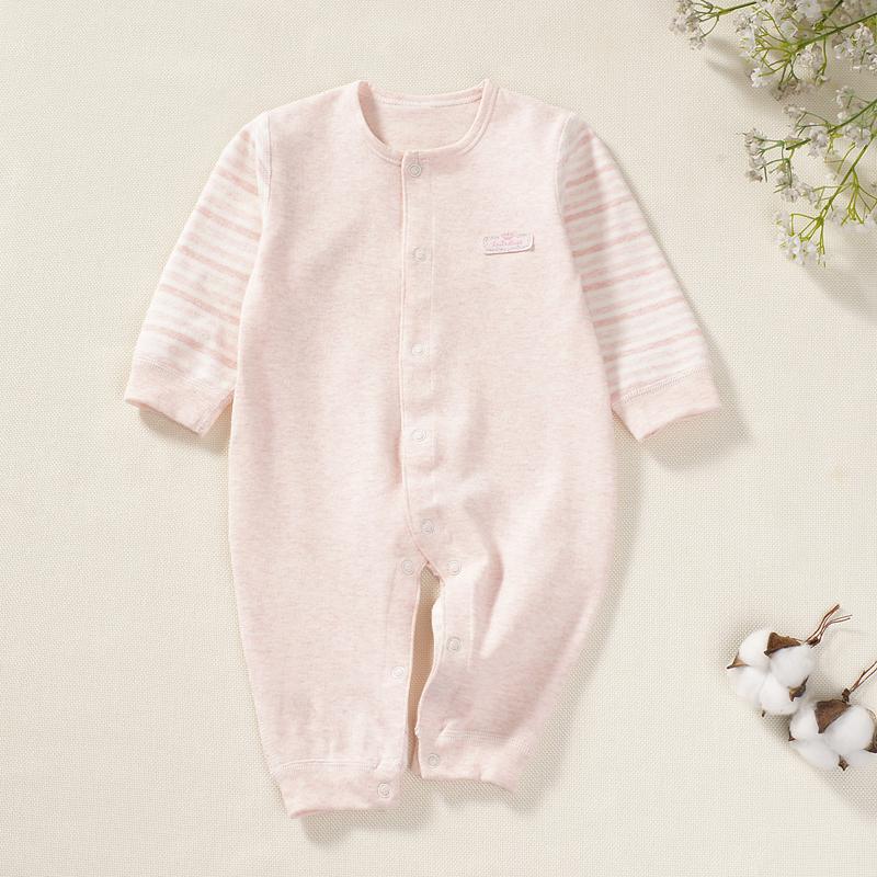 纯棉春秋季单层宝宝哈衣婴儿连体衣-优惠价5元销量168件