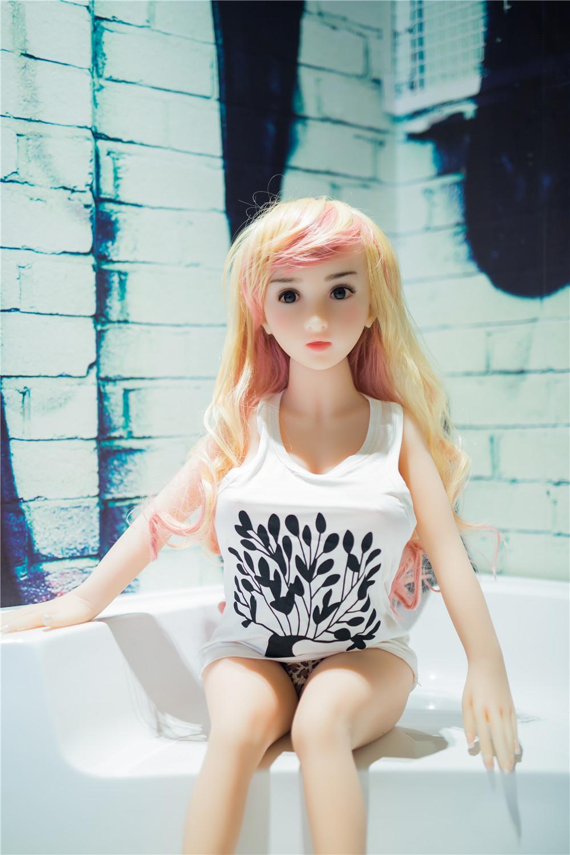 100cm实体硅胶超新全硅胶野蛮女友日本逼真 充气娃娃 真人温度