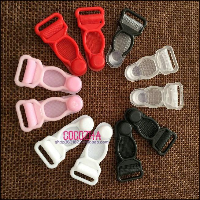Palăng nhựa khóa 6 garter bộ phụ kiện DIY garter khóa vớ non-slip sling khóa clip