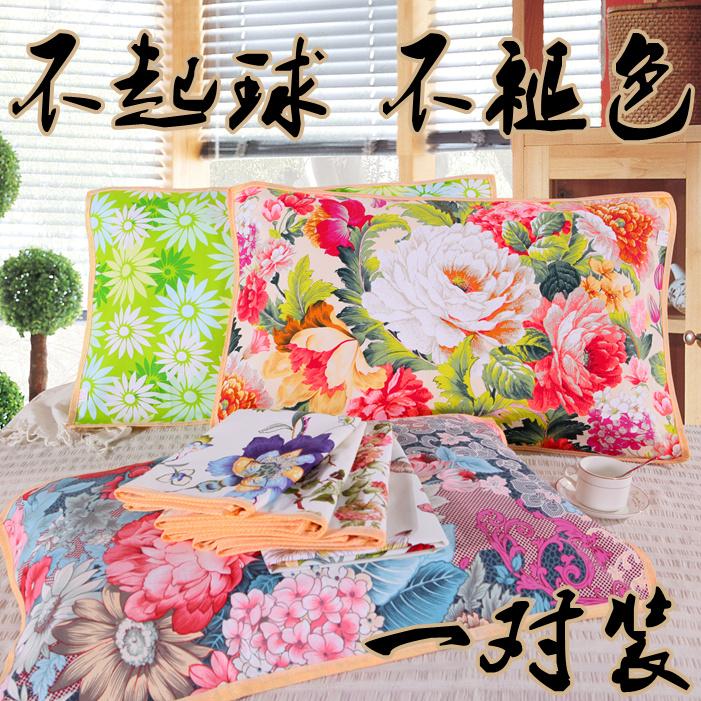Cũ vải thô gối khăn dày lên để tăng không- màu breathable duy nhất vải bông gối khăn đặc biệt thô vải gối khăn cặp