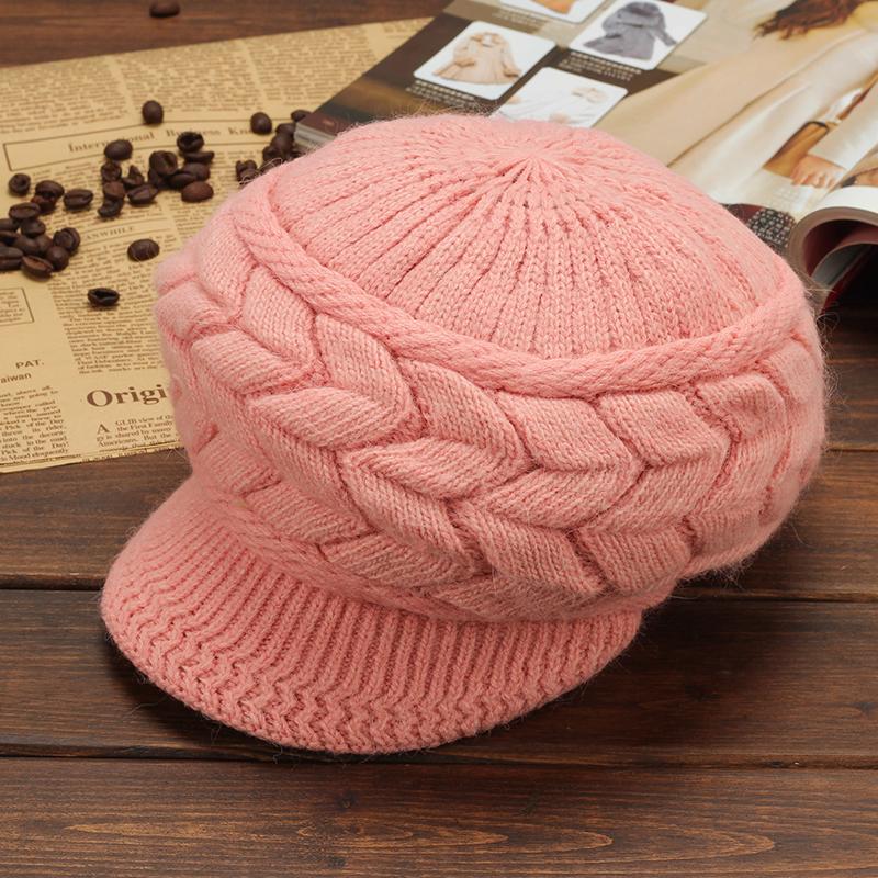 冬季<font color='red'><b>帽子</b></font>兔毛针织毛线帽加绒保暖帽