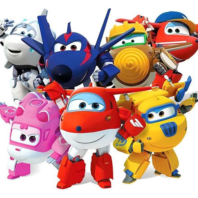 热销267件需要用券【新品优惠】飞侠玩具一套装全套大号乐迪小爱酷飞变形机器人