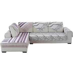 田园布艺四季沙发垫通用沙发套