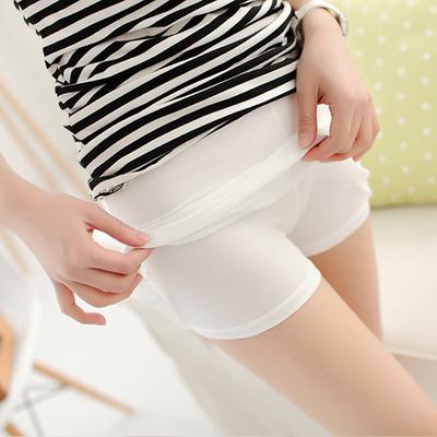 Phương thức xà cạp mùa hè của phụ nữ phần mỏng lưới kích thước lớn quần an toàn chống ánh sáng quần ba điểm quần bó bảo hiểm quần Quần tây thường