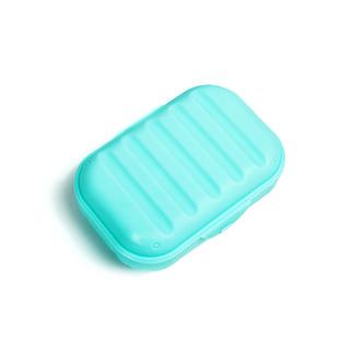 大号创意便携带锁扣带盖旅行肥皂盒