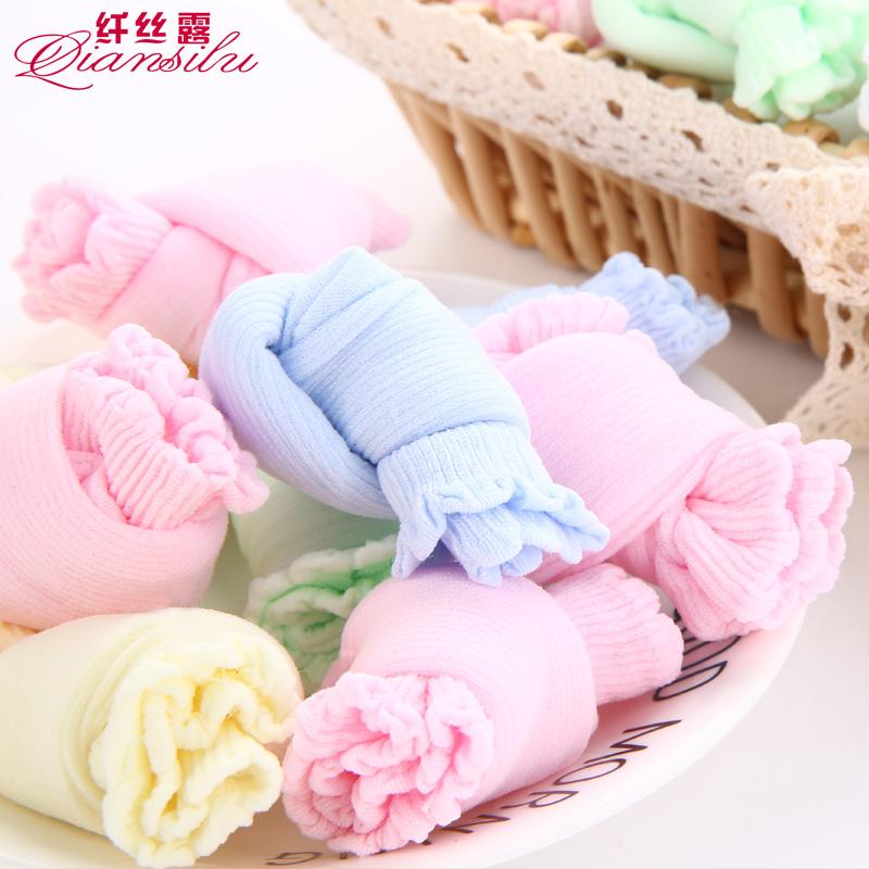 儿童糖果袜女宝宝夏季一次性丝袜儿童乐园袜20双男童丝袜短童袜子