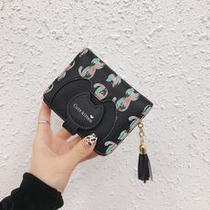 钱夹子短款韩版钱包  有视频QQ要1264