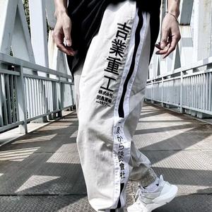 2018 đất nước triều bản gốc Tajima ngành công nghiệp vận tải phần ánh sáng quần âu đường phố retro heavy duty beamed yếm