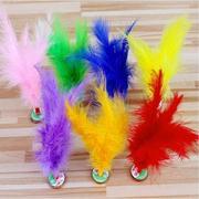 Gà tây kẹp tóc màu đồ chơi trẻ em học sinh tiểu học ngoài trời thể dục giải trí cạnh tranh thể thao Bọ Cạp lạ mắt croquet - Các môn thể thao cầu lông / Diabolo / dân gian