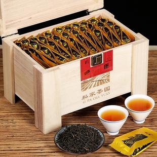 武夷山金骏眉茶叶礼盒装送礼红茶中秋送礼茶叶木盒过年礼盒茶叶