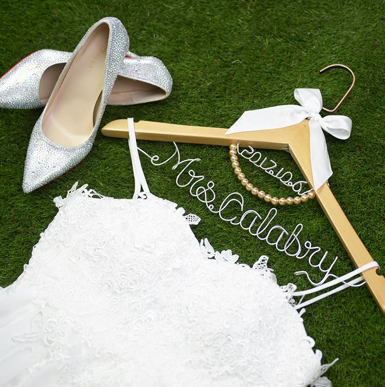 婚礼衣架DIY定制新娘婚纱衣架喜字衣架中式双喜秀禾服衣挂探房礼