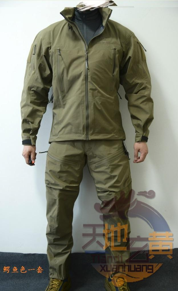 official images 50% off coupon code 640.38] Arc teryx Leaf Alpha Jacket Gen 2 Army Bird High-end ...