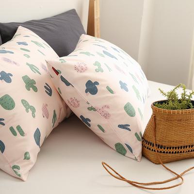 小米馍馍 | 好多肉 | 纯棉全棉清新单件床单床笠被套枕套床上用品