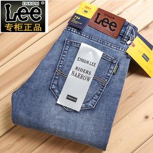 【Lee】休闲潮牌直筒男士牛仔裤