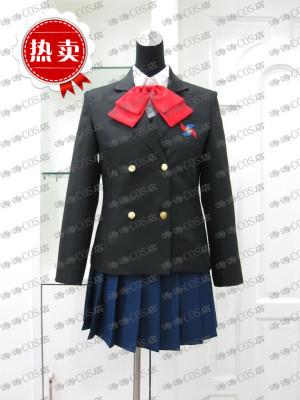 taobao agent COSPLAY Another Misaki Naruto Girls Uniform Winter Wear