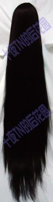 taobao agent Ten nights TN black 130 cm 150 cm COS wig high temperature silk long bangs to chin