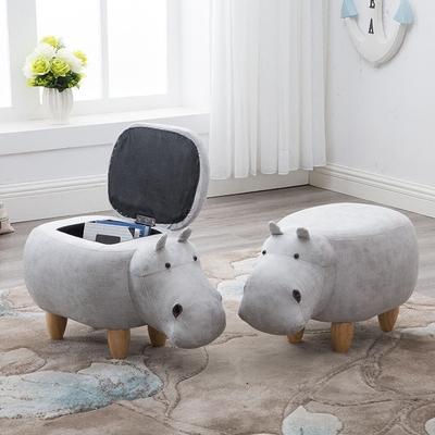 创意家具:河马沙发凳