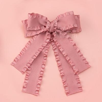 taobao agent Hand-made Japanese Alice beautiful cute big bow lolita hairpin sweet original handmade hair accessories headdress