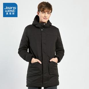 【真維斯】時尚舒適錦棉混紡間棉外套