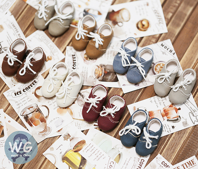 taobao agent Baby GUY bjd molly cloth ob11 doll shoes gem6 points male 4 points female msd mdd imda lace-up shoes